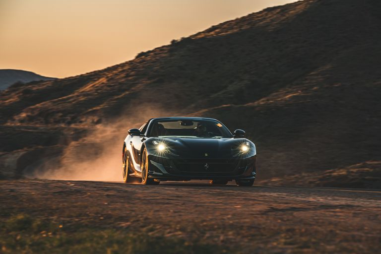 The Ferrari 812 GTS Comes In Hot Enjoying The Superfast Lifestyle